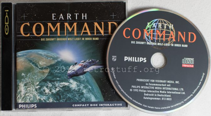 CD-i Earth Command Start Problems