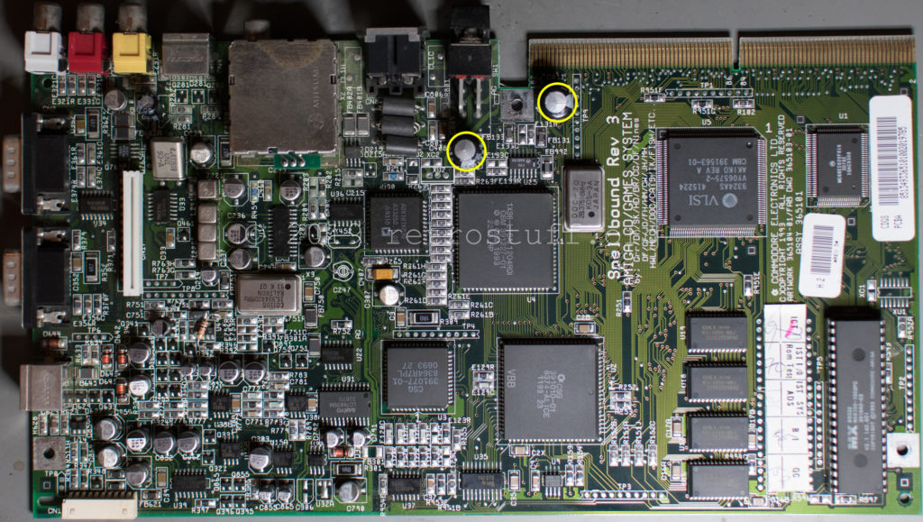 Amiga CD³² PCB