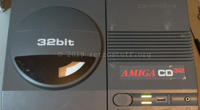 Amiga CD³² with TF328