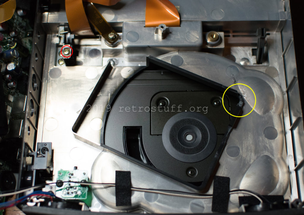 Philips CDI350 (top cover modification)