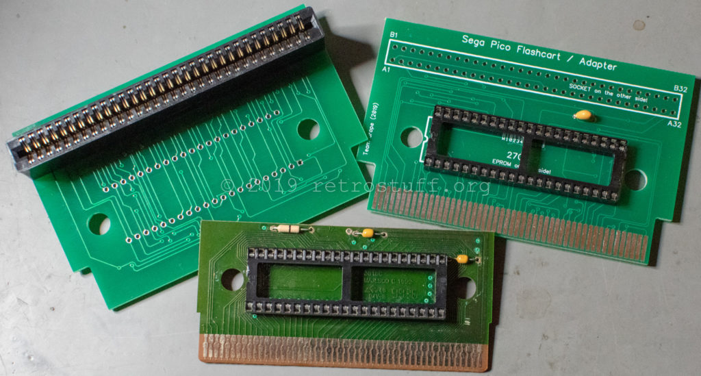 Sega Pico flash carts / adapter