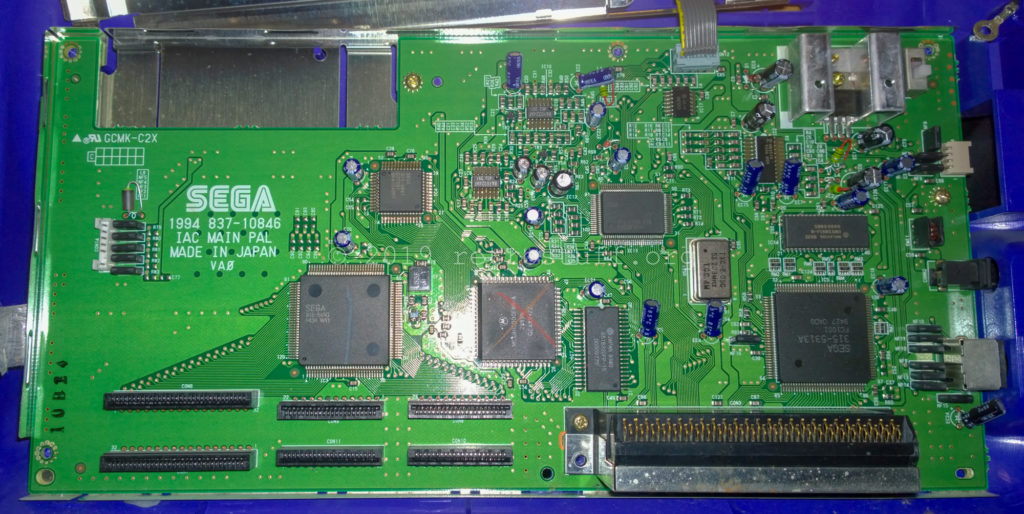 Sega Pico - main PCB front