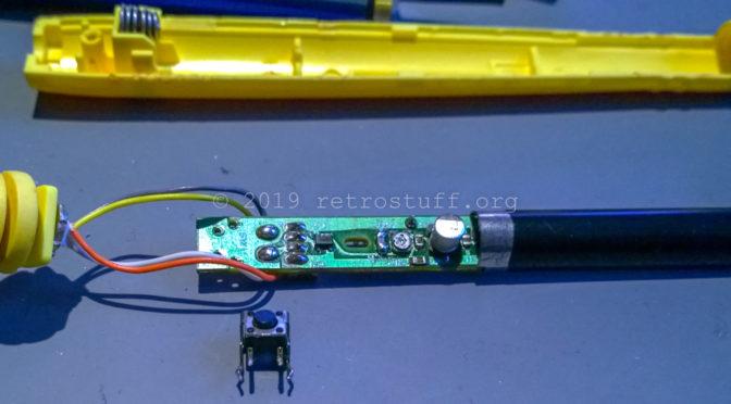 Sega Pico Pen Repair