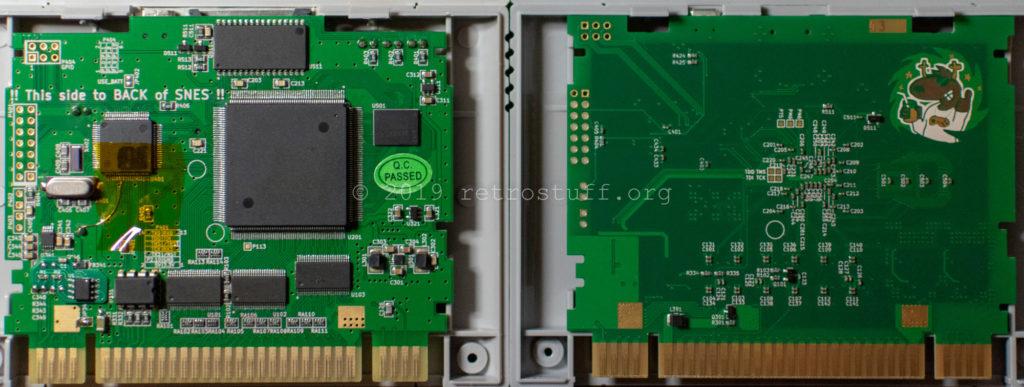SD2SNES Mk.II vs. SD2SNES Mk.III (back)