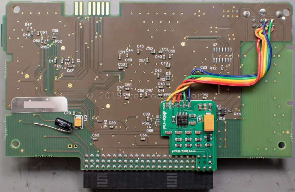 Voultar FU-RGB - SSDS3 video driver