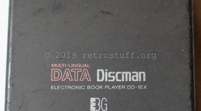 Sony DD-1EX Data Discman Repair