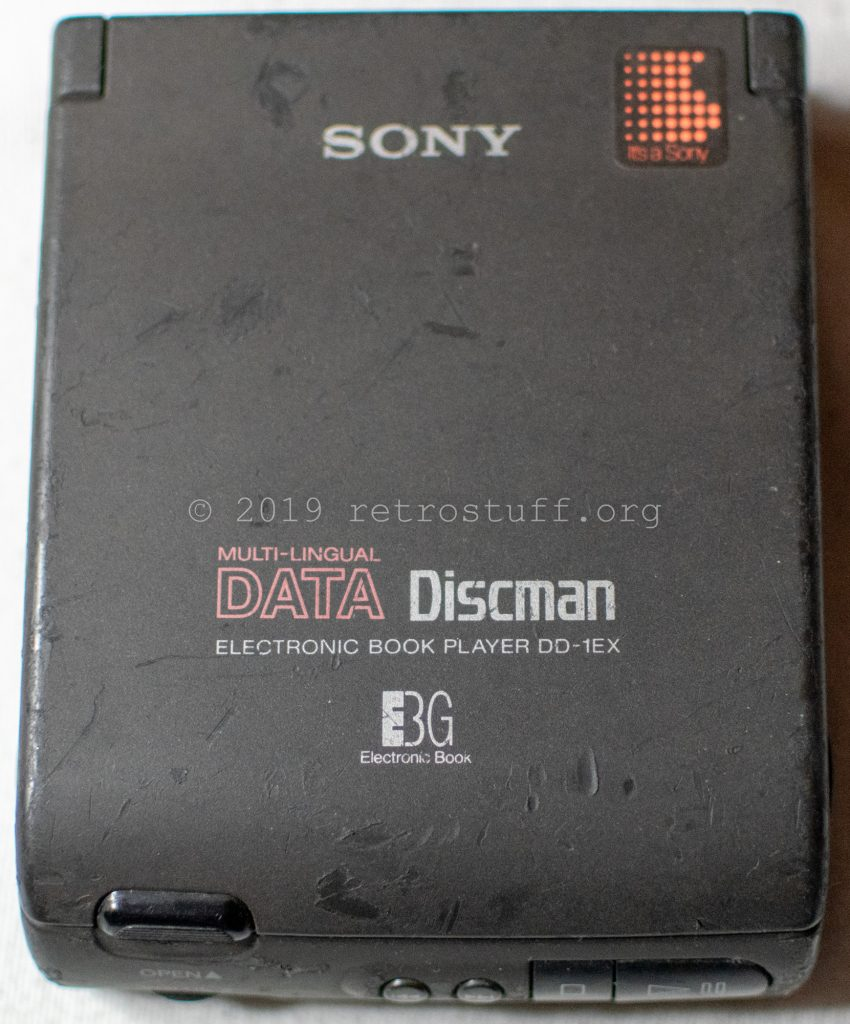 Sony DD-1EX Data Discman