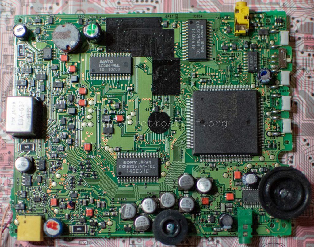 Sony DD-1EX mainboard