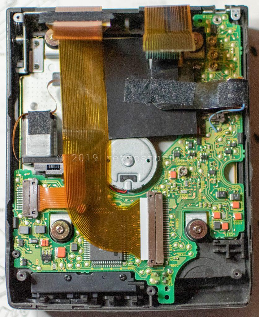 Sony DD-1EX servo board