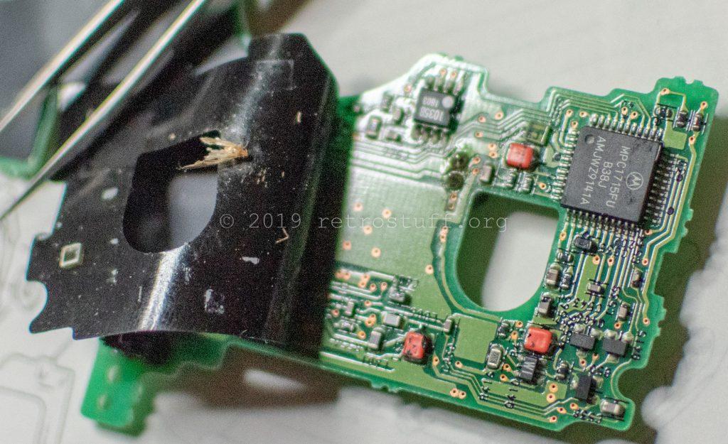 Sony DD-1EX servo board + moth