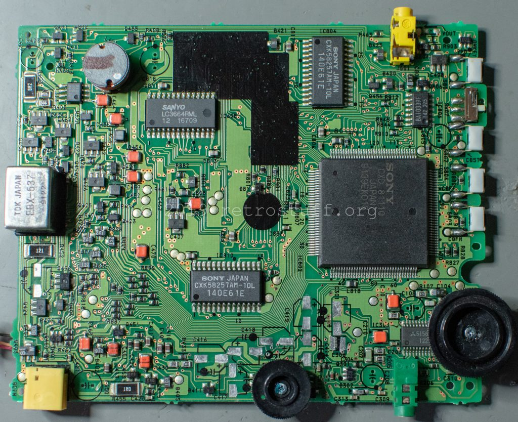 Sony DD-1EX mainboard (cleaned)
