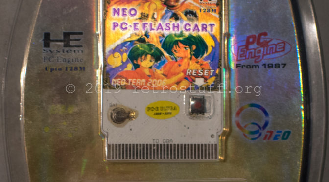 NEO Power PC-E 128M+SAVE Flash Cart Repair