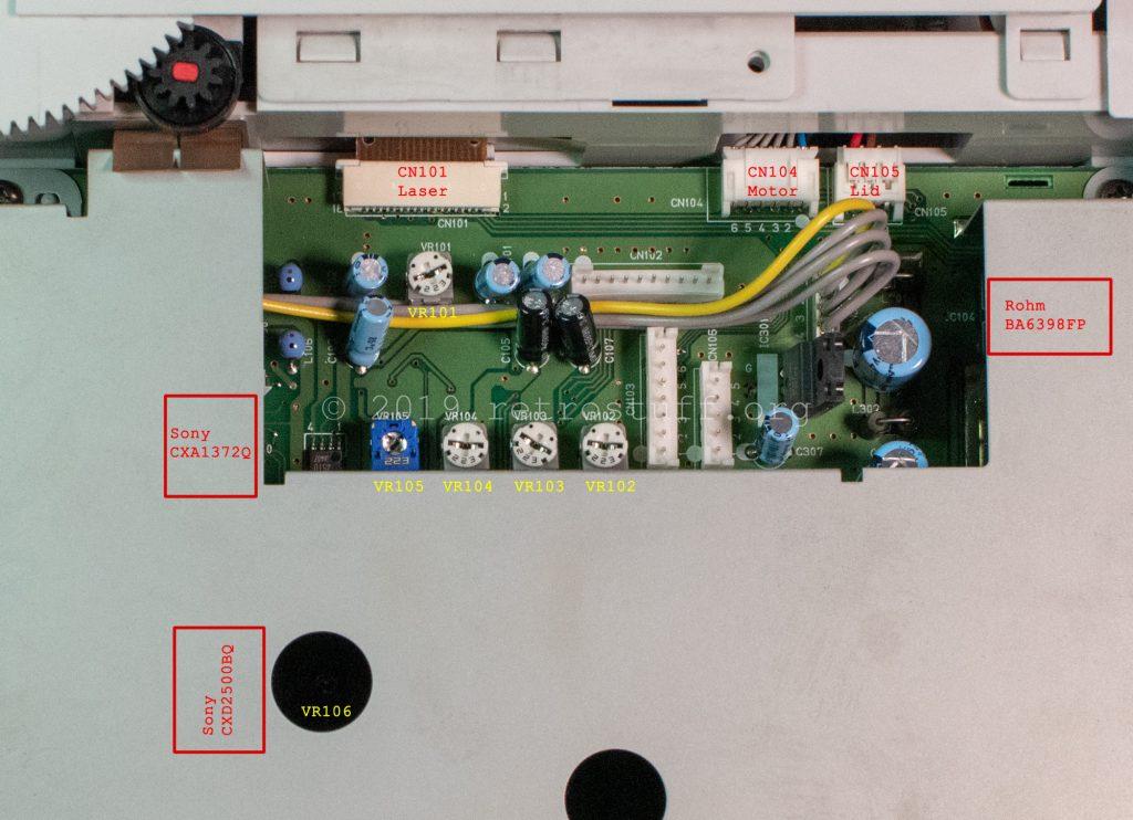 NEC PC-FX daughterboard (PWA-3387 72933871)