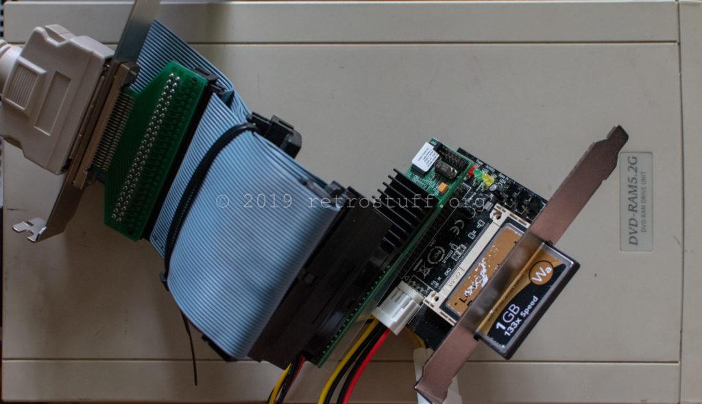SCSI to CF