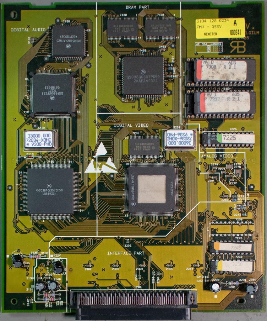 Philips CDI605 DVC 22ER9424