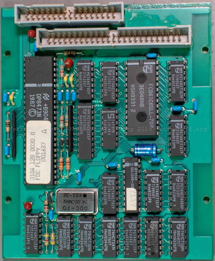 Floppy disk controller