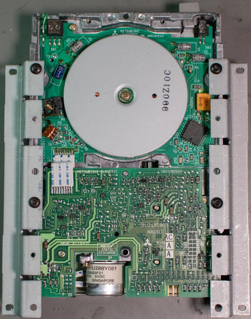 Mitsubishi MF355C-299MG floppy disk drive