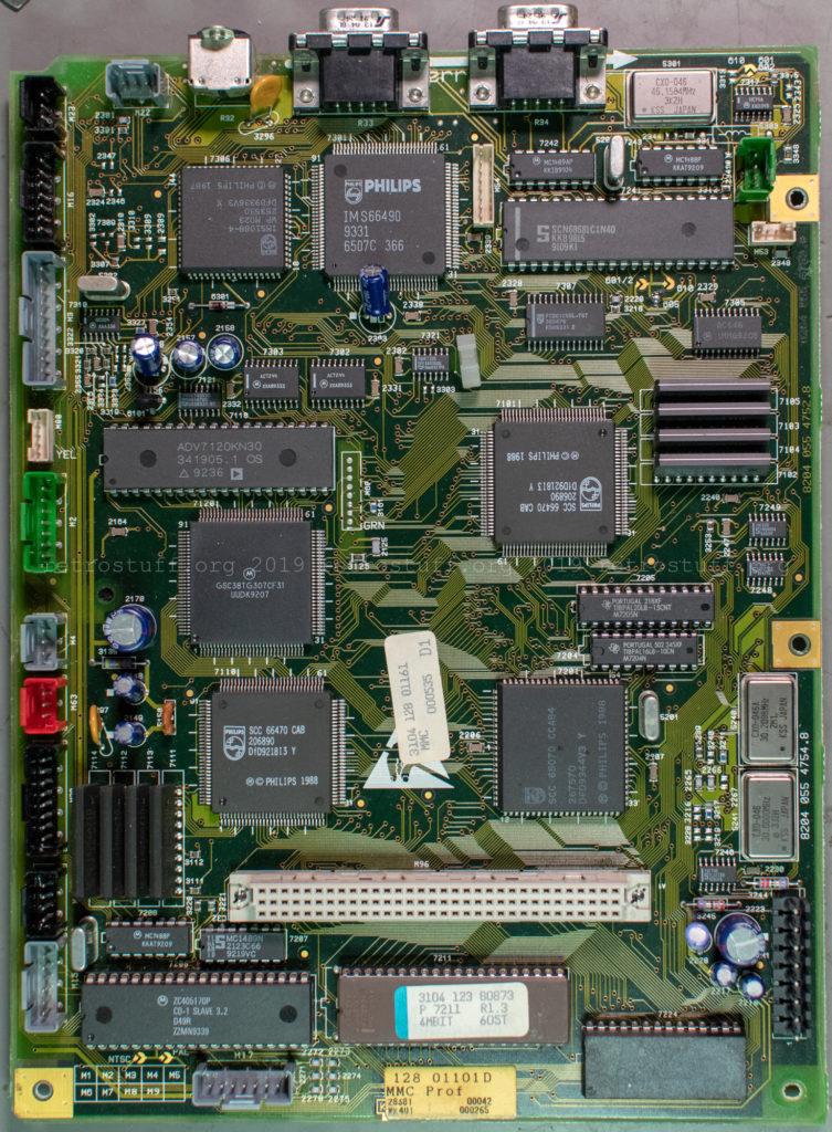 Philips CDI605T Mini MMC panel