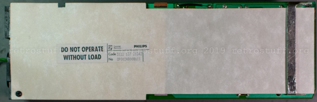 Philips CDI605T power supply