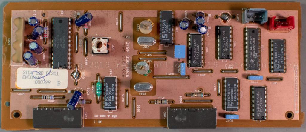 Philips CDI605T ENCODER panel