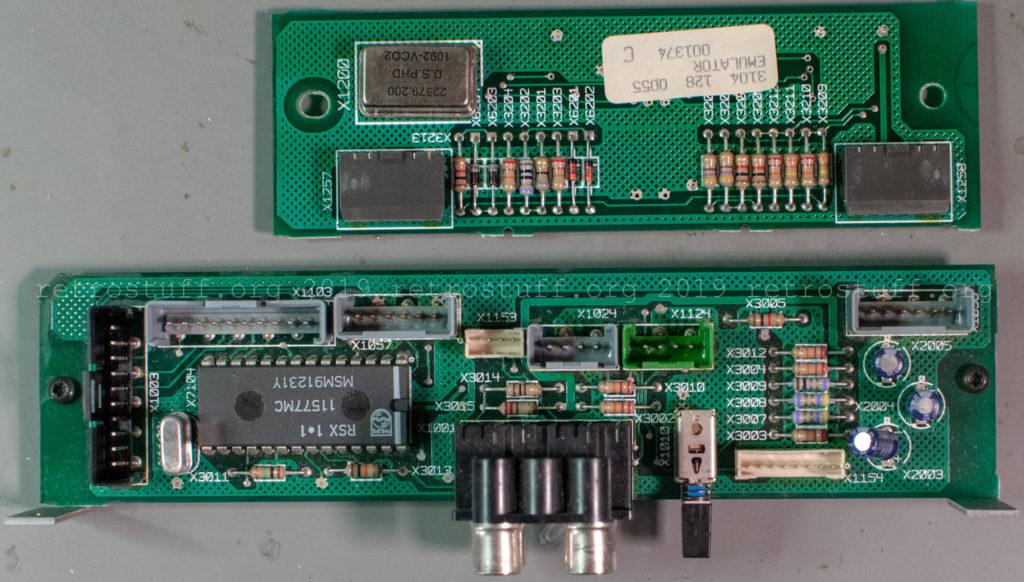 Philips CDI605T EMULATOR panel
