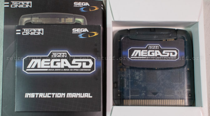Terraonion MegaSD Cartridge
