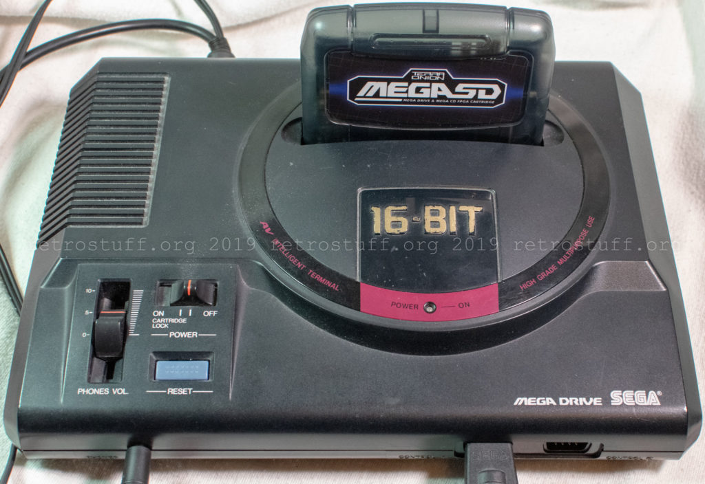 MegaSD with Mega Drive HAA-2510