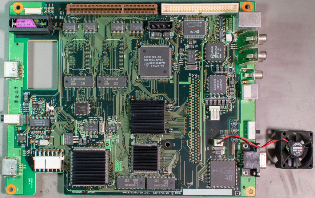 Pippin Atmark PA-82001-S - mainboard front