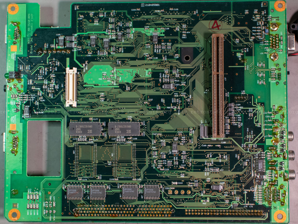Pippin Atmark PA-82001-S - mainboard back