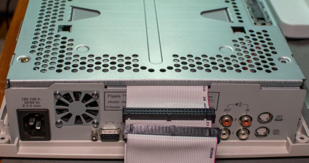 Apple/Bandai Pippin Atmark PA-82001-S external SCSI