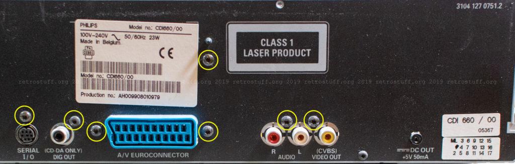 CDI660 back panel