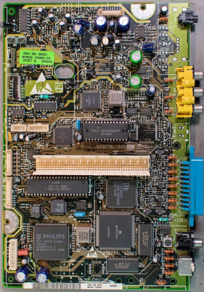 CDI660 Mono IV board (front)