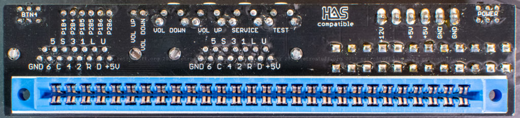 Capcom CPS2 I/O interface