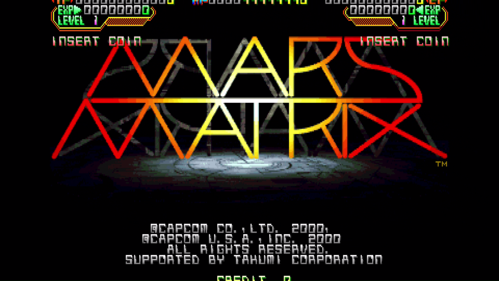 CPS2 digital AV interface: Mars Matrix