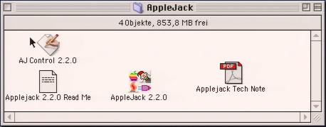 AppleJack input device driver