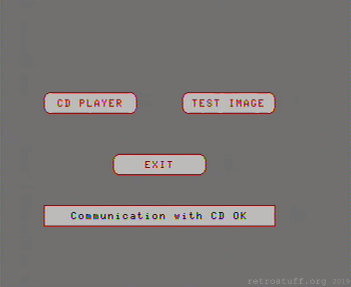 Service Shell: Communication with CD OK