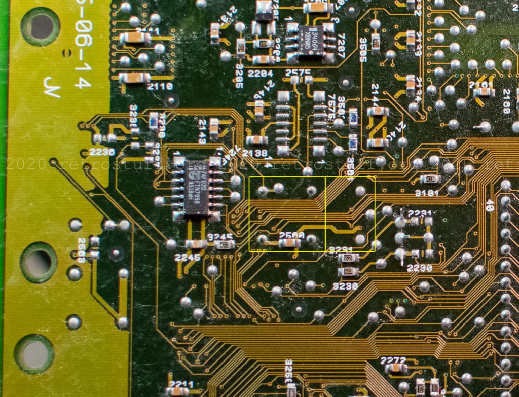CXO solder points