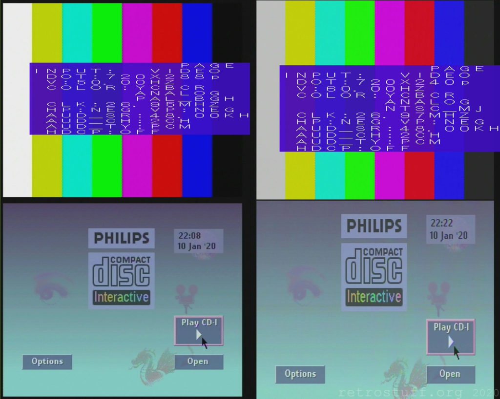 Service shell test image & player shell (Framemeister)