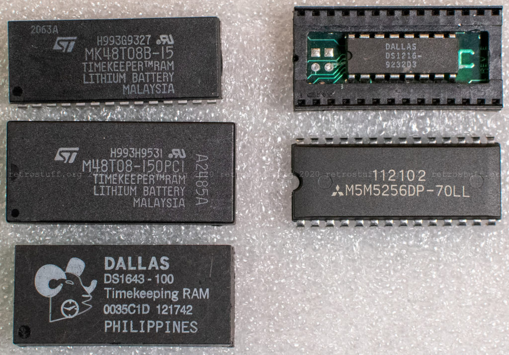 Philips CD-i 8 and 32 KB NVRAM