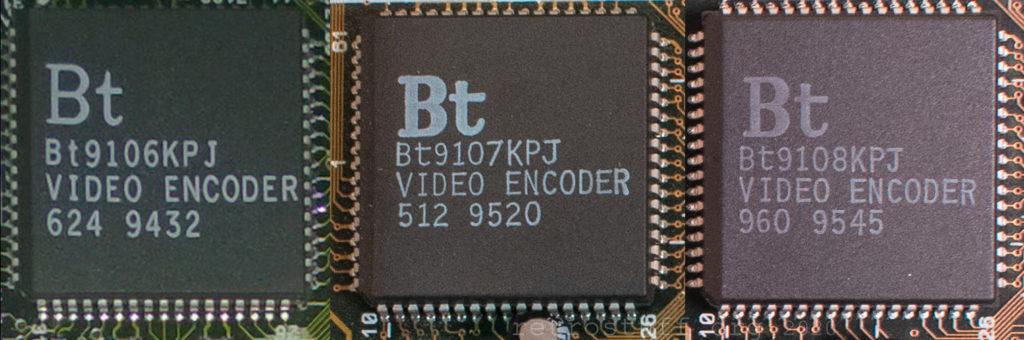 Brooktree BT9106 & BT9107 / BT9108 (Calvin & Hobbes)