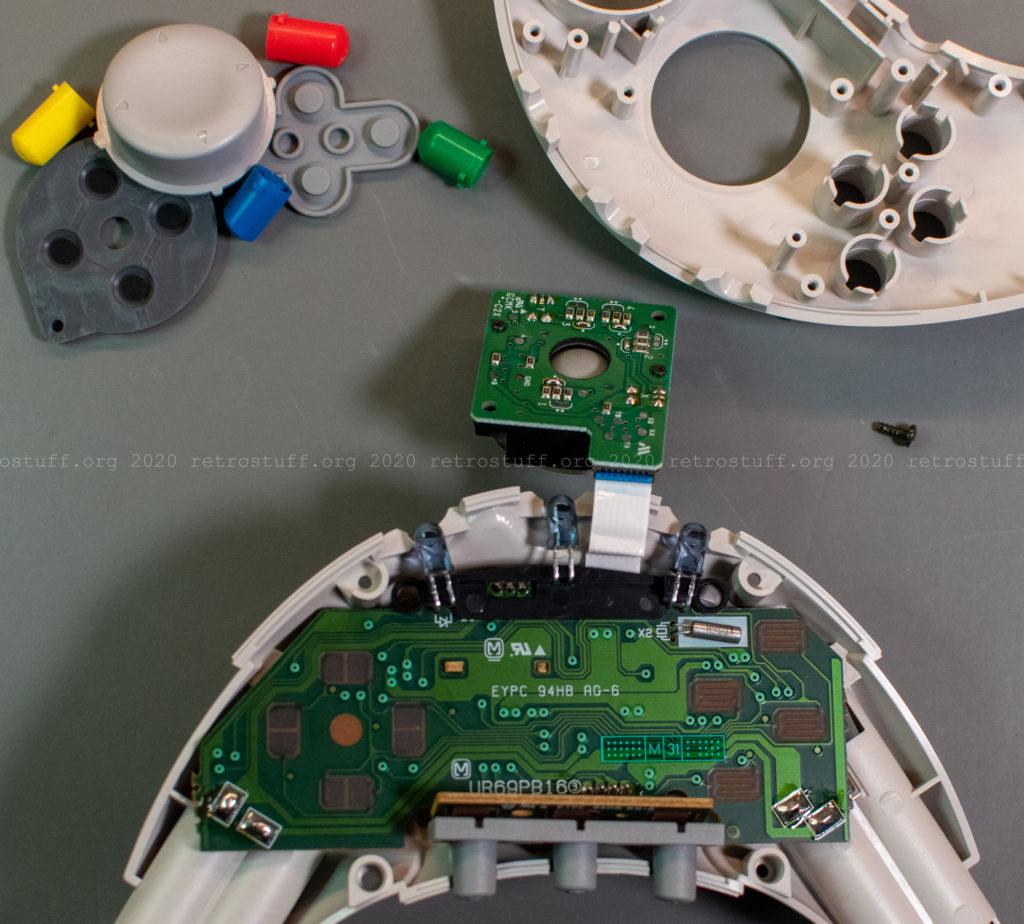 Atmark Wireless Controller - lower half assembled