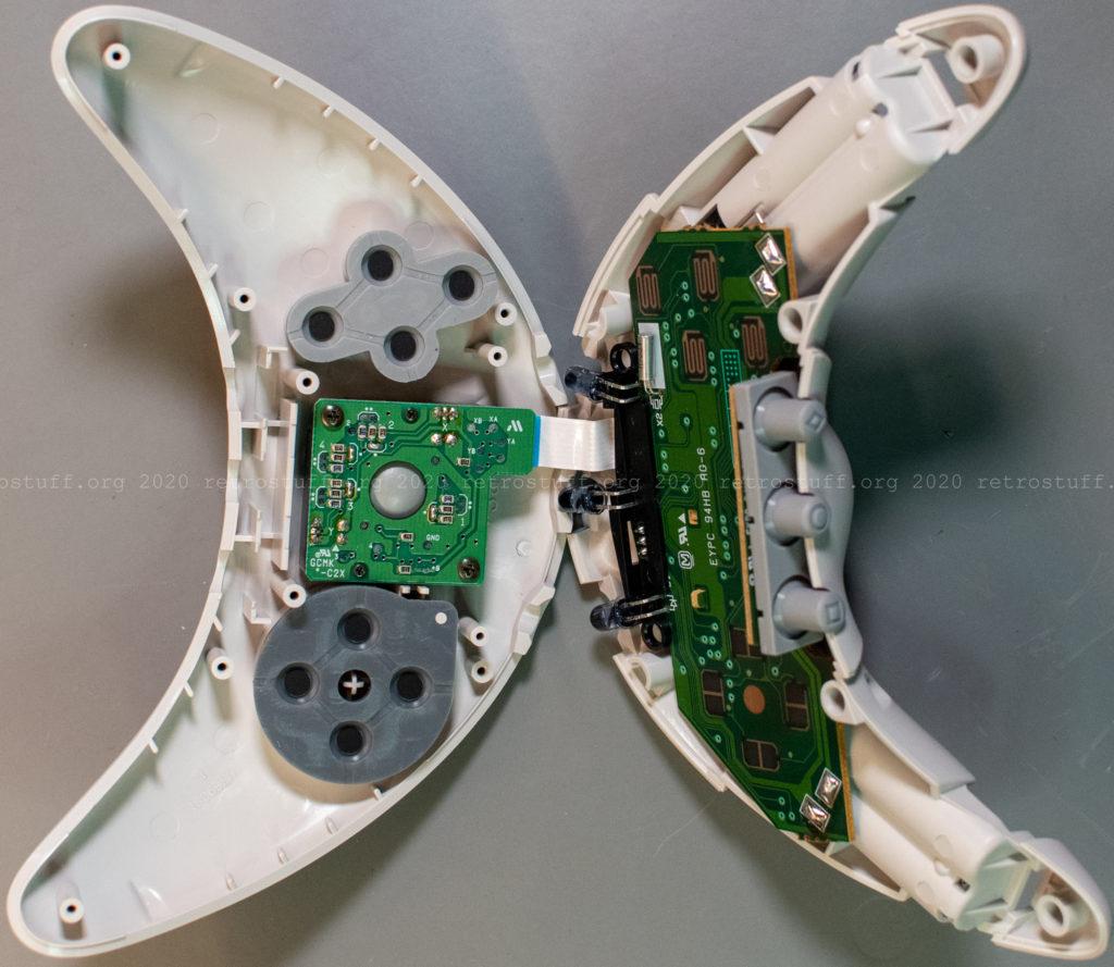 Atmark Wireless Controller - both halves assembled