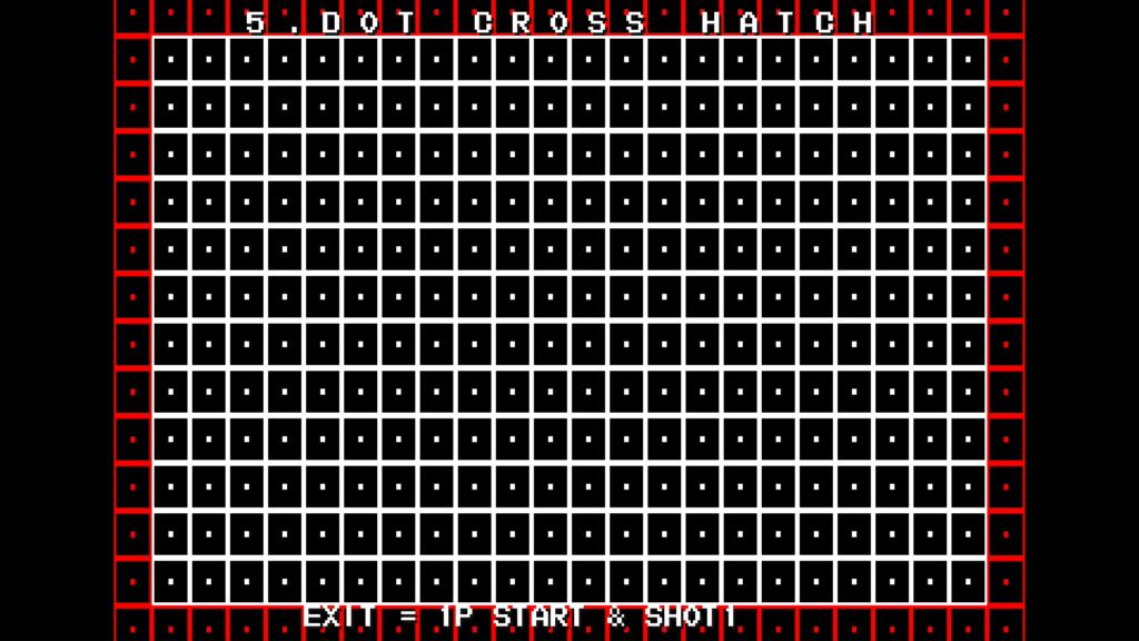 CPS2 digital AV interface: dot cross hatch (1080p 5x)