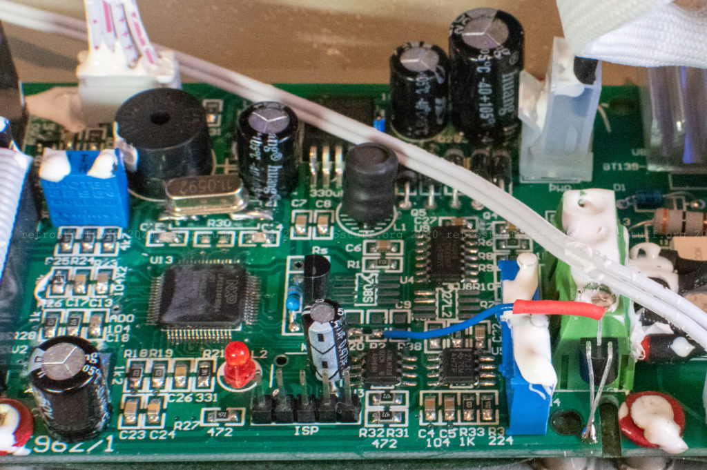 T-962 cold junction compensation with DS18B20+PAR