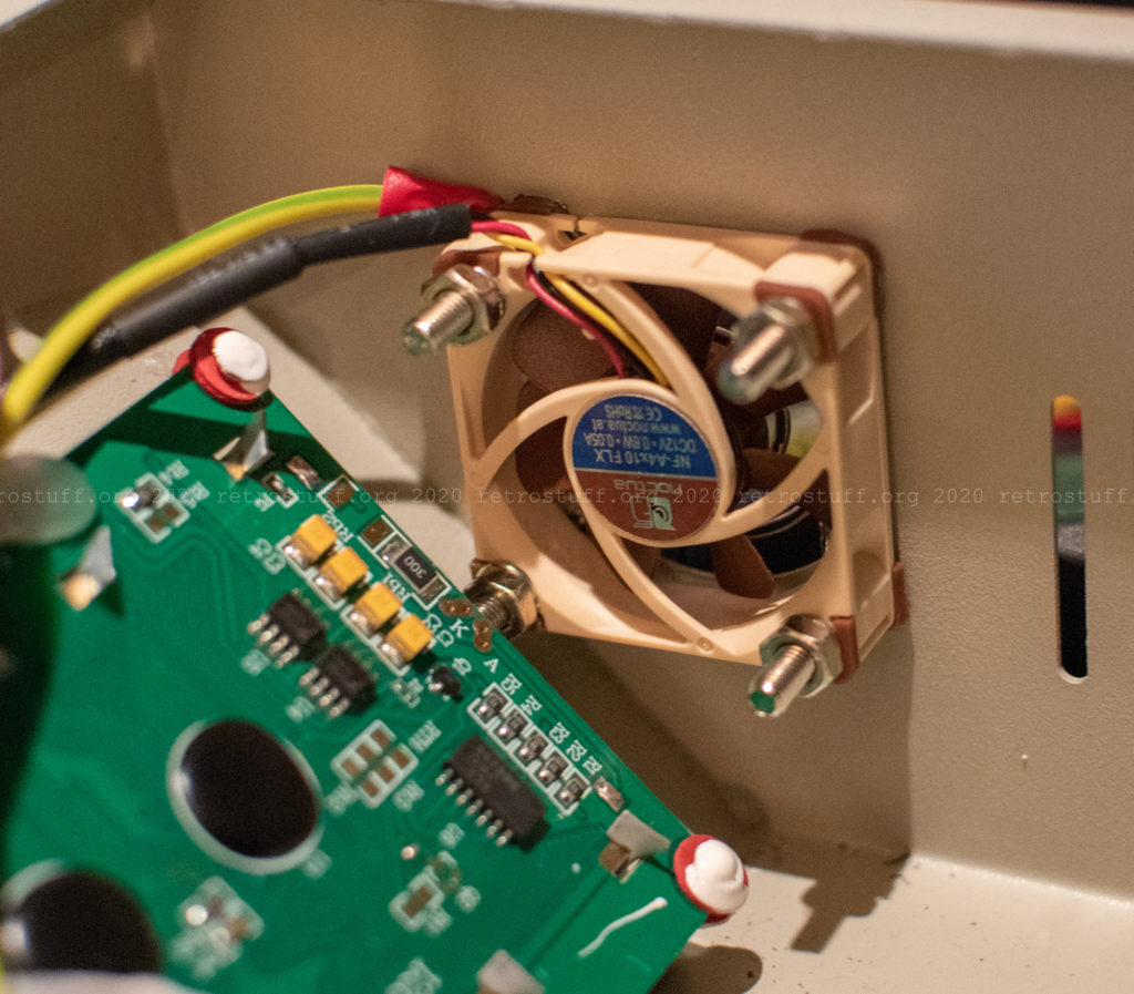 T-962 system fan replacement with ground wire