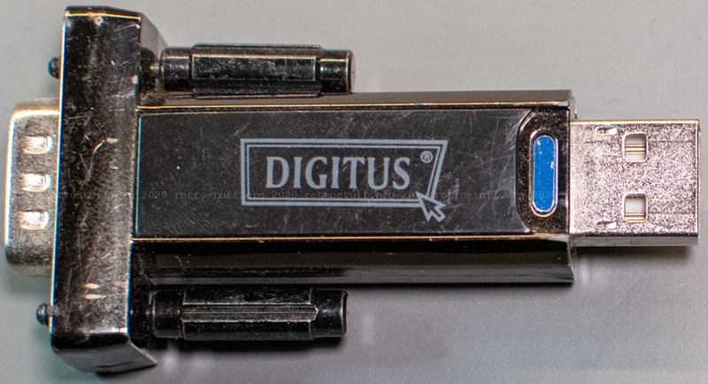 DIGITUS DA-70156 USB to serial adapter