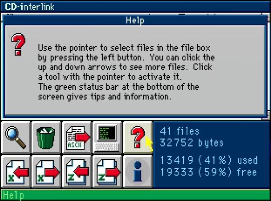 CD-interlink Help