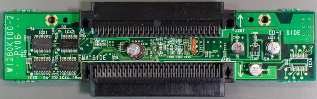 Philips 9142 extension module PCB (front)