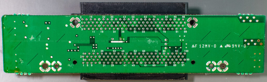Philips 9142 extension module PCB (back)