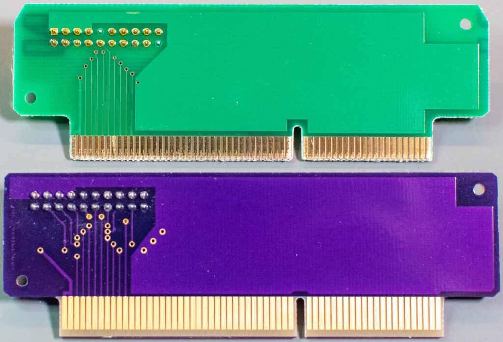 X-PCI FDD adapter board - original and replica